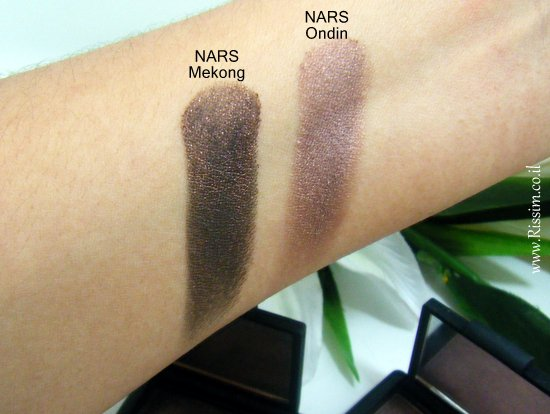 NARS Ondin & Mekong swatches
