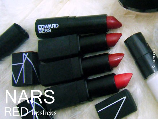 NARS red lipsticks