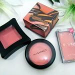 peach coral cream blushes with benefit sugar bomb