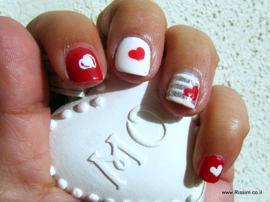 ציפורני לבבות לוולנטיין