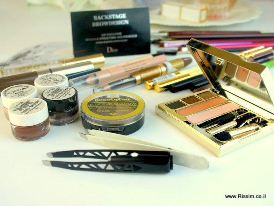 מוצרים לעיצוב ואיפור גבות