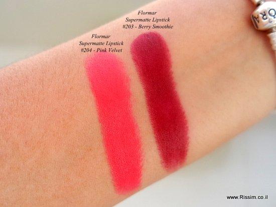 Flormar Supermatte Lipstick