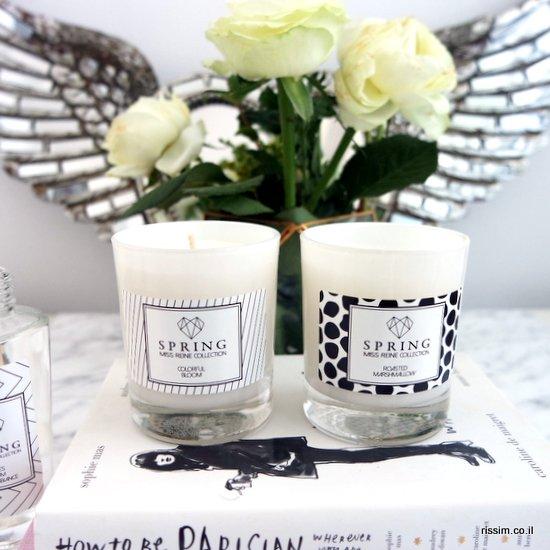 הנרות של ספרינג ומיס ריין