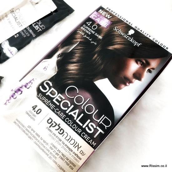 צבע שיער של שוורצקופף לצביעה ביתית