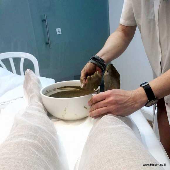 טיפול פנים בג'רנטיק מתחיל ברגליים