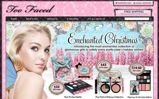 האתר של Too Faced