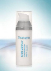 תחליב לחות לעור רגיל עד מעורב מסדרת מולטי דיפנס של ניוטרוג'ינה