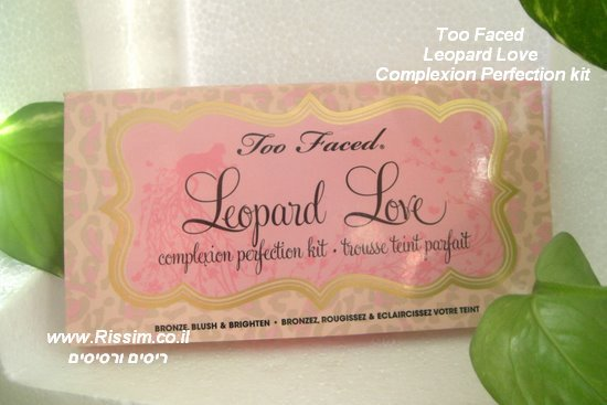 Too Faced Leopard Love Complexion Perfection kit