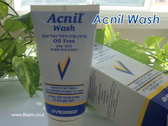 סבון פנים אקניל