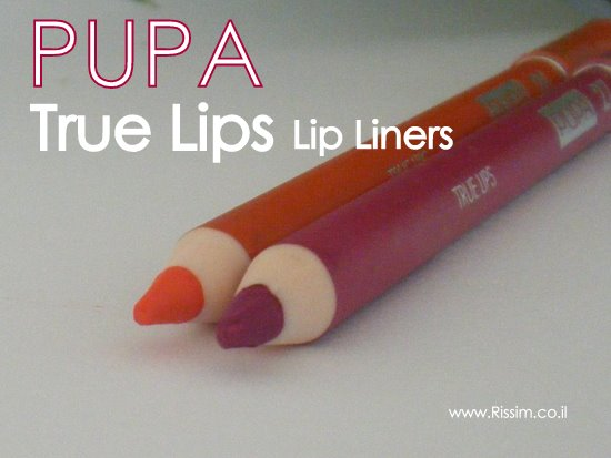 PUPA True Lips Lip Liners