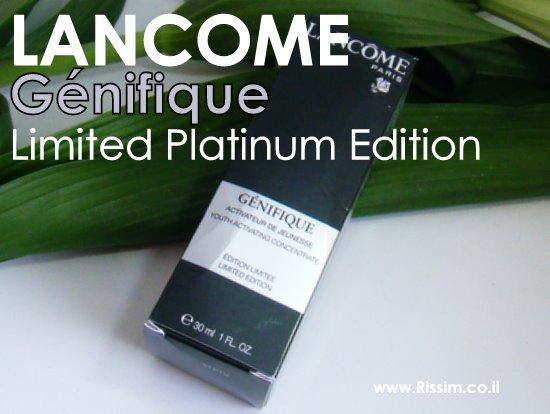 GENIFIQUE limited platinium edition