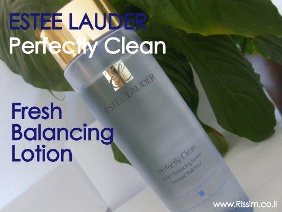 מי פנים של אסתי לאודר- Estee Lauder Perfectly Clean Fresh Balancing Lotio