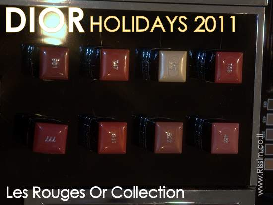 DIOR HOLIDAYS 2011 Les Rouges Or
