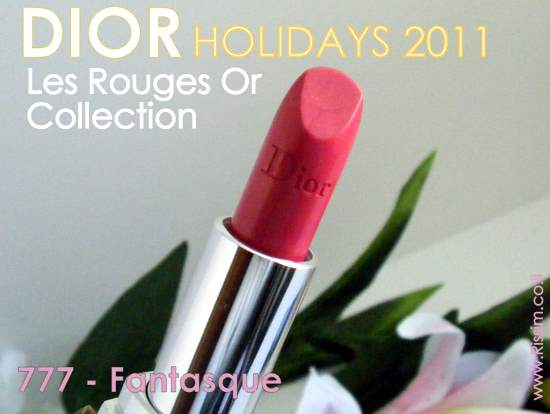 DIOR HOLIDAYS 2011 Les Rouges Or - Rouge Dior – 777 Fantasque