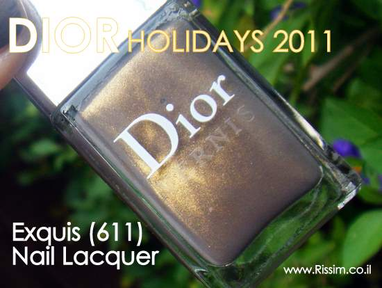 Dior Exquis 611 NAIL LACQUER holidays 2011
