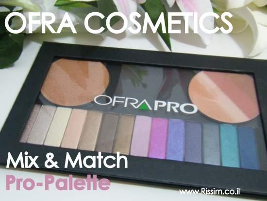 OFRA COSMETICS Mix & Match Pro Palette
