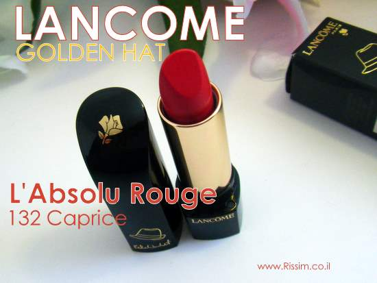 Lancome L'Absolu Golden hat Rouge 132 Caprice