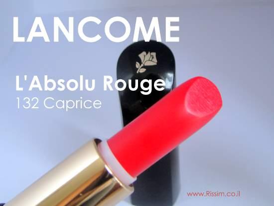 Lancome L'Absolu Rouge 132 Caprice