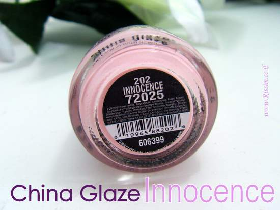 China Glaze Innocence