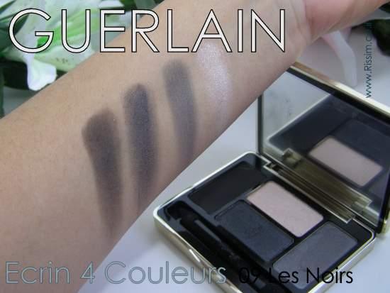 Guerlain Ecrin 4 Couleurs 09 Les Noir swatches