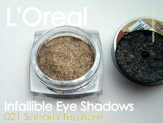 LOreal Infallible Eyeshadows 21 Sahara Treasure