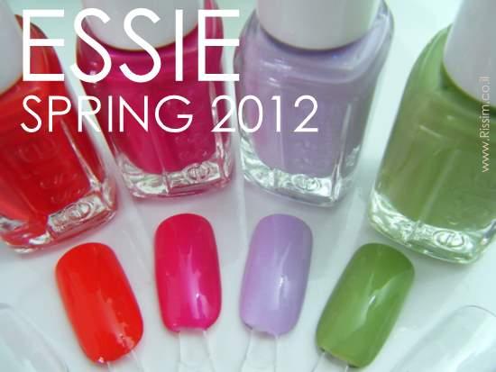 ESSIE SPRING 2012