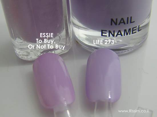 Essie To Buy, Or Not To Buy vs LIFE 373