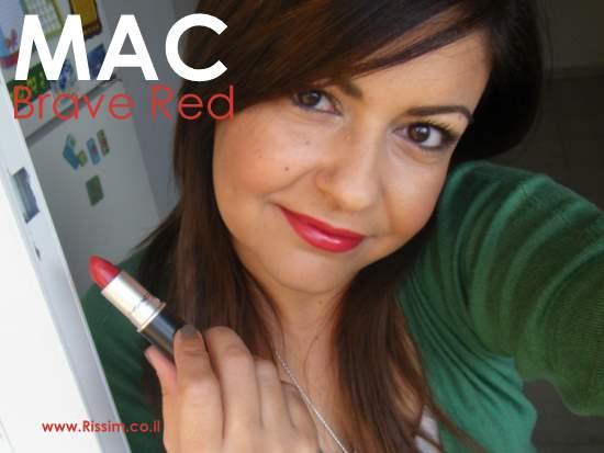 MAC BRAVE RED