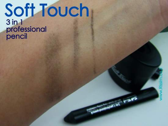 Soft Touch 3in 1 professional pencil