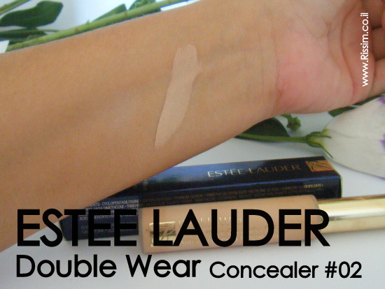 Estee Lauder Double Wear Concealer #02 swatch