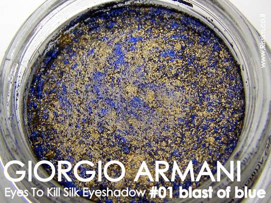 GIORGIO ARMANI Eyes To Kill Silk Eye Shadow - # 01 blast of blue