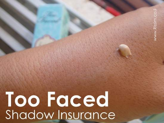 TOO FACED SHADOW INSURANCE