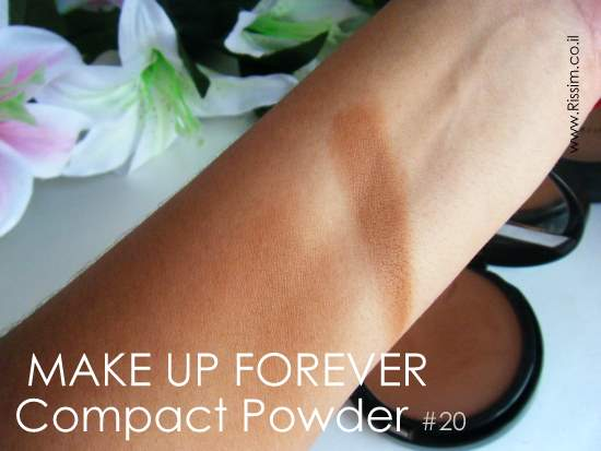 MAKE UP FOREVER BRONZER #20 SWATCHES