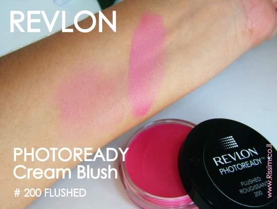 REVLON PHOTOREADY Cream Blush 200 flushed swatches