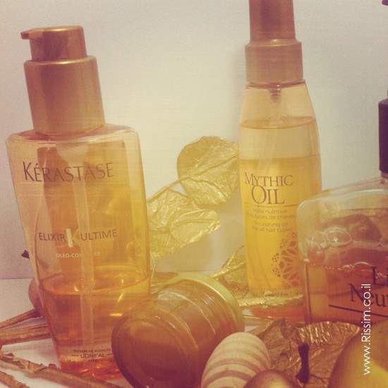 KÉRASTASE ELIXIR and  L'ORÉAL Mythic Oil