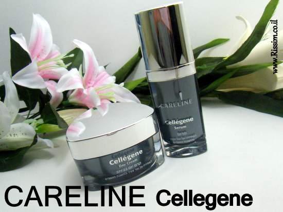 Careline Cellegene serum and day cream