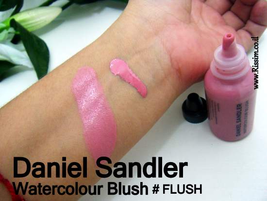 Daniel Sandler Watercolour Blush #flush swatches