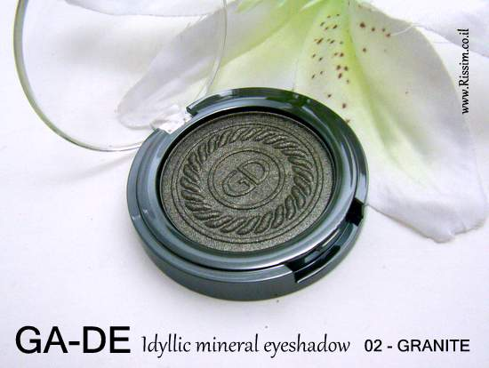 GADE Eeshadow 02 GRANITE
