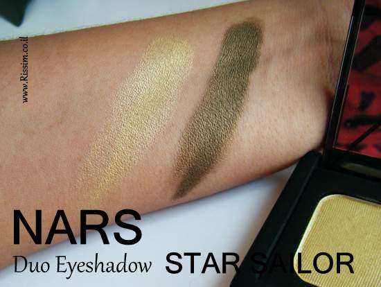 NARS Star Sailor Duo Eyeshadow swatches