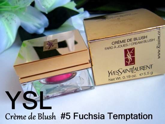 YSL Crème de Blush #5 Fuchsia Temptation