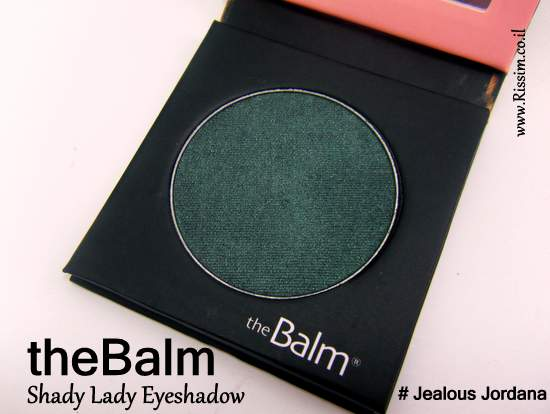 theBalm Shady Lady Eyeshadow Jealous Jordana
