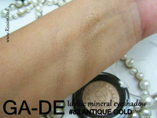 GA-DE Idyllic eyeshadow 82 antique gold