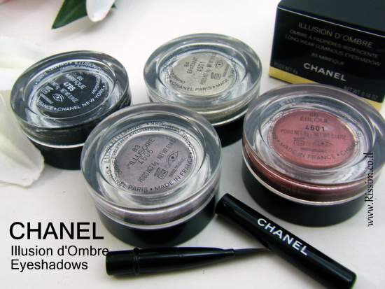 CAHNEL Illusion d'Ombre Eyeshadows