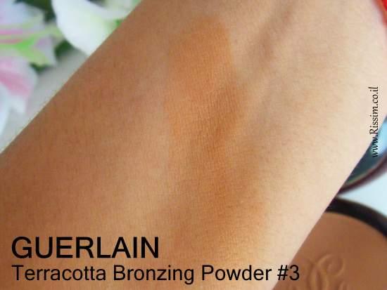 Guerlain Terracotta Bronzing Powder #3 swatch