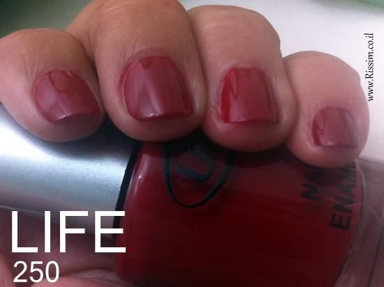 LIFE 250 nail polish swatches
