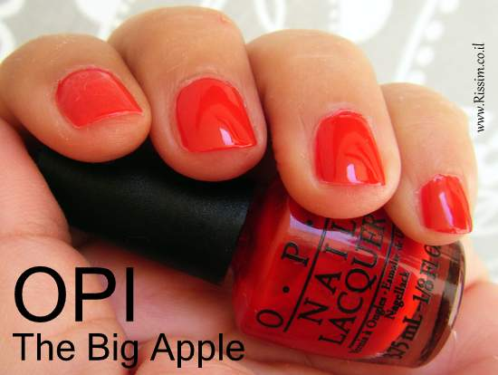 OPI The Big Apple swatch