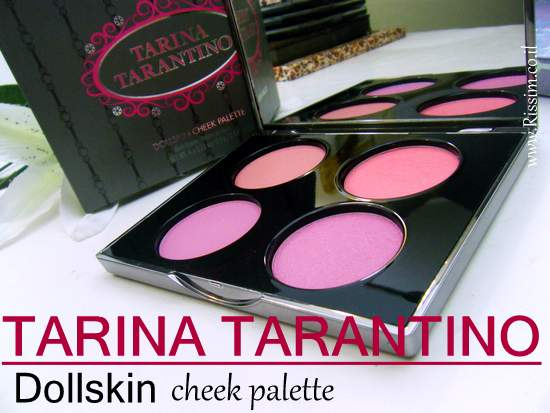 Tarina Tarantino Dollskin cheek palette