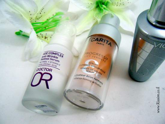 Day skincare routine for dry skin - serums