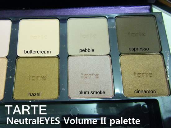 Tarte NeutralEYES Volume II Palette