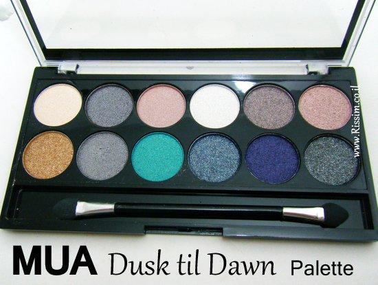 MUA Dusk til Dawn Palette
